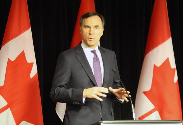 Le ministre des Finances du Canada, Bill Morneau, a accordé une grande importance à l'égalité entre les femmes et les hommes dans son budget 2018-2019. Crédit : Thierry Larivière/TCN