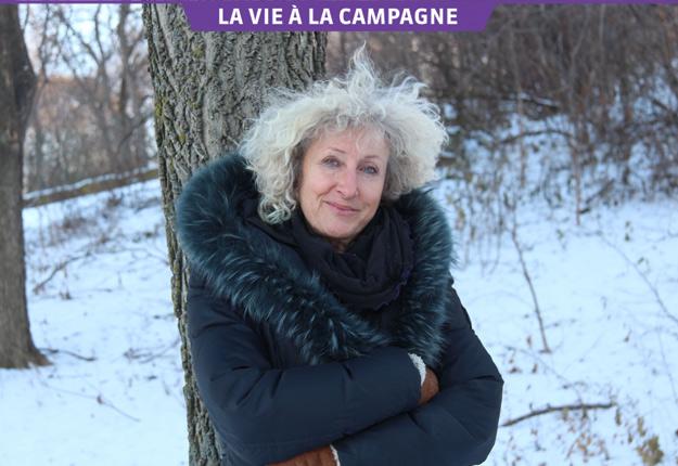 L'auteure Monique Proulx adore la nature sauvage des Laurentides. Crédit photo : Julie Mercier/TCN
