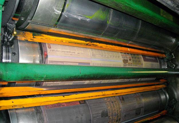Le papier exporté par Kruger aux États-Unis subira une taxe totale de plus de 32 %. Crédit photo : Topeka