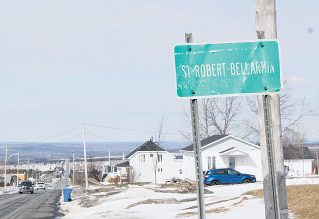 Saint-Robert-Bellarmin, un village de 600 habitants, compte possiblement le plus grand nombre d'entailles au Québec avec plus de 1,5 million d'unités. Crédit photo: Pierre-Yvon Bégin/TCN
