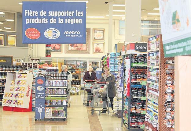 Promouvoir la certification Aliments du Québec fait partie des mesures d'identification des produits d'ici. Crédit photo : Archives TCN