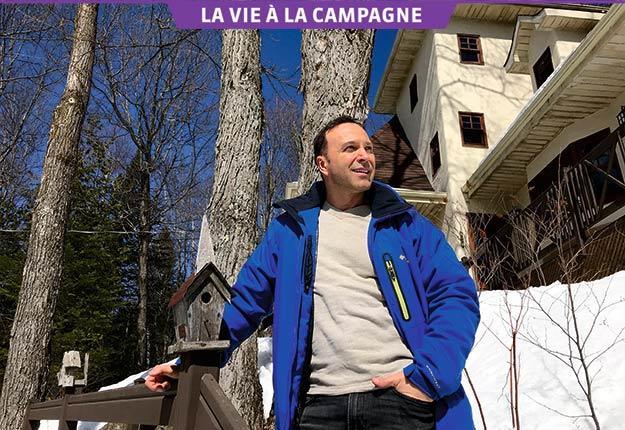 La campagne est essentielle à l'équilibre de vie de Joël Legendre. Crédit photos : Gracieuseté de Joël Legendre.
