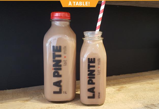 Réservé aux amateurs de chocolat, ce délice est fait à partir de lait 100 % québécois et de cacao de première qualité.