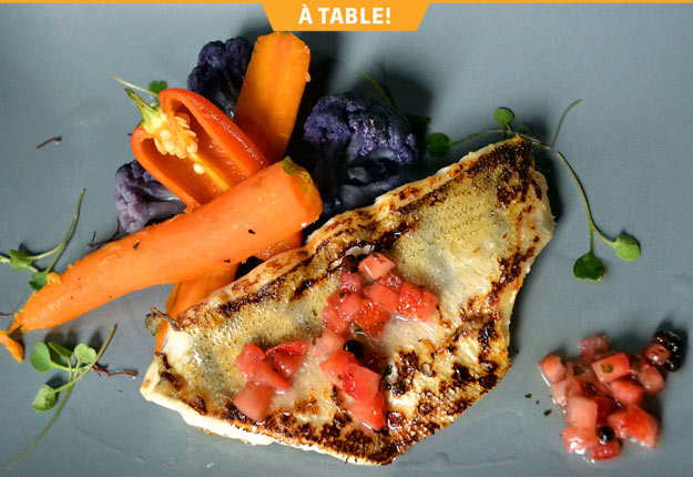 La cuisine de l'Auberge du Lac Taureau réunit simplicité, audace, créativité et originalité.
