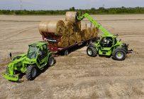 Tracteurs télescopiques Merlo Multifarmer 40.7 et 40.9.
