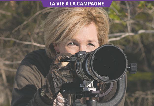 La chef d'antenne Sophie Thibault voue une passion sans bornes à la photographie. Sa caméra n'est jamais loin la fin de semaine lorsqu'elle se réfugie dans les Laurentides. Crédit photos: Gracieuseté de Sophie Thibault