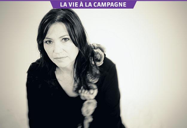 Le plein air est au cœur de la vie de la chanteuse Claire Pelletier. Crédit photo : Jean-François Dupuis