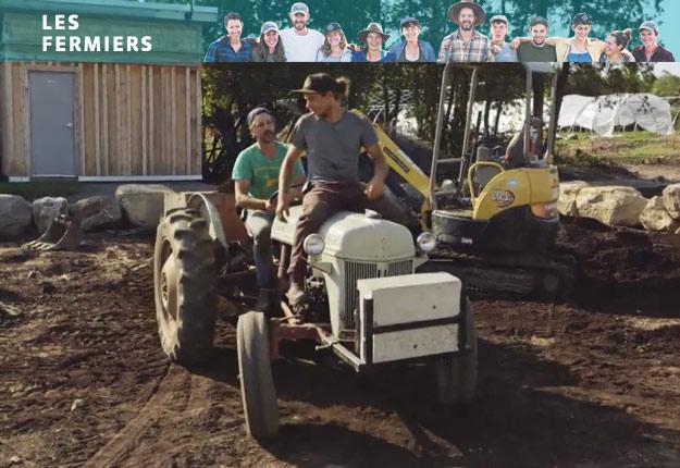 Dans une scène qui nous rappelle le film Titanic, Jean-Martin a offert un lift de tracteur à Dany en direction du jardin sud.