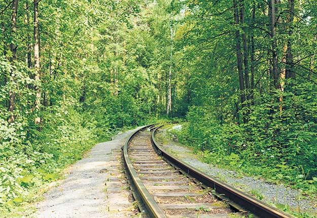 Le nouveau rail de 12,8km traversera les terrains de 44propriétaires en zone agroforestière.