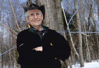 Impossible pour M. Trépanier de vivre en retrait de la forêt et de ses érables. Crédit photo : Pierre Saint-Yves