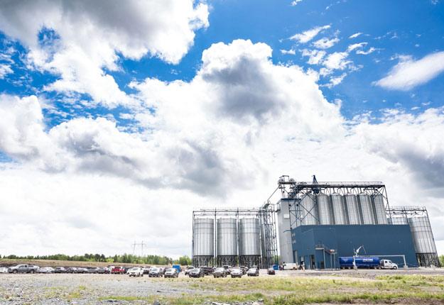 Le nouveau centre de grains des Aliments Breton a été inauguré à Scott, le 7 juin. Crédit photo : Gracieuseté d'Aliments Breton