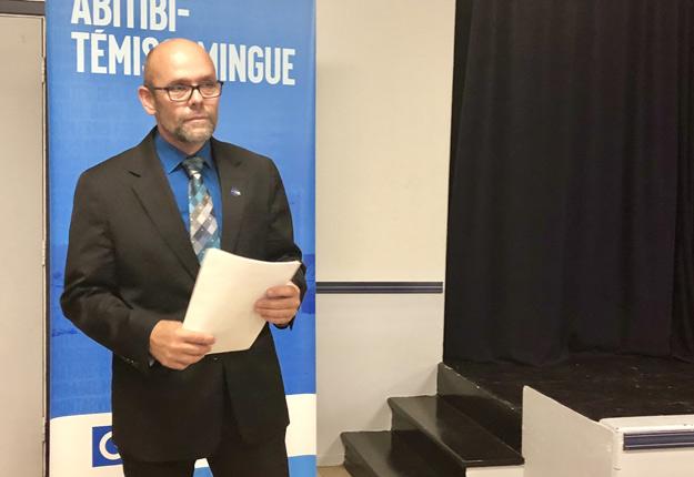 S'il est élu député, Sylvain Vachon, l'ex-président de la Fédération de l'UPA d'Abitibi-Témiscamingue, compte poursuivre les combats qu'il a menés au sein de l'Union des producteurs agricoles (UPA), comme celui de la pérennité du programme de drainage des sols. Crédit : Émélie Rivard-Boudreau
