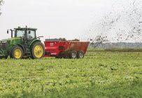 La principale raison qui pousse un producteur à s'équiper, c'est la disponibilité des outils pour pouvoir fertiliser les champs au moment voulu.