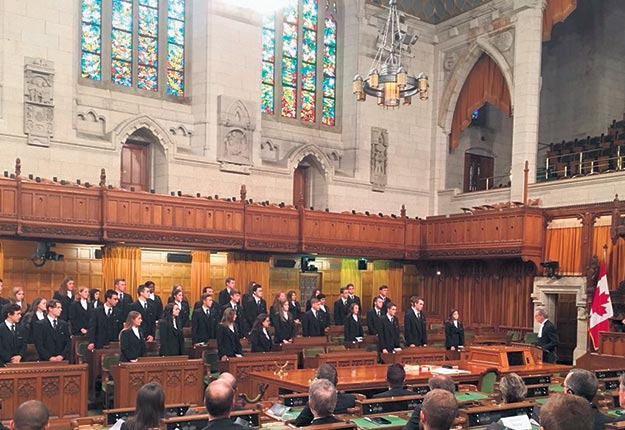Les parlementaires sont retournés à la Chambre des communes le 17septembre. Crédit photo : Gracieuseté de la Chambre des communes
