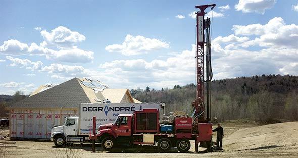 On doit également tenir compte des projets de développements futurs quand on choisit l'emplacement d'un puits. Crédit photo : Gracieuseté Degrandpré