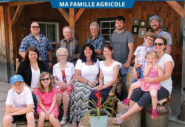 Quatre générations s'activent pour garder vivante l'entreprise agricole qui a vu le jour en 1815. Crédit photo : Gracieuseté de la famille Dubeault