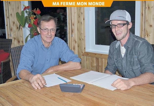 Marius Cloutier a vu en Daniel Lehoux un entrepreneur avant de voir un simple employé.