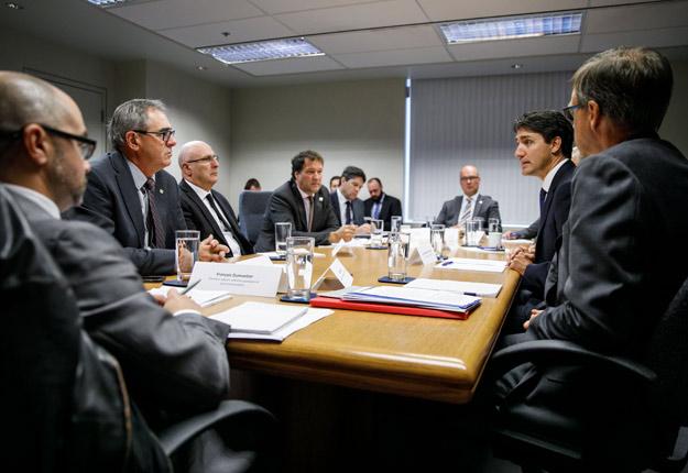 Crédit photo : Bureau du premier ministre