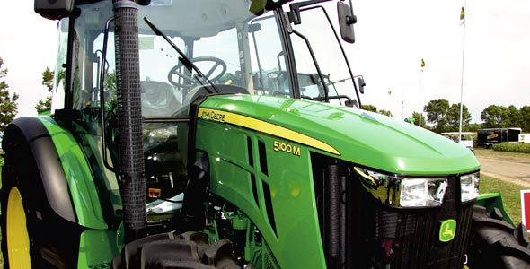 Chez John Deere, sept tracteurs neufs sur dix ont fait l'objet d'un plan de location au cours de la dernière année.