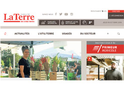 site web laterre.ca