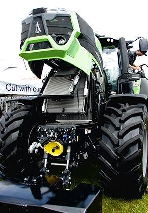 René Gagnon estime que les tracteurs de 160 forces et plus sont de très bonne qualité et généralement de fabrication allemande.
