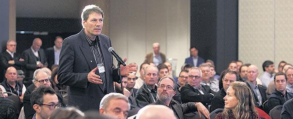 La 2eConférence sur le chauffage à la biomasse forestière résiduelle s'est déroulée le 8novembre, à Québec.