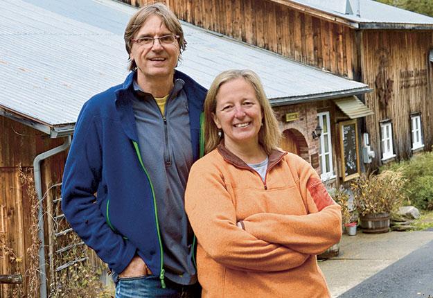 Nathalie Decaigny dirige depuis plus de 21ans le Domaine Acer avec son conjoint, Vallier Robert. Crédit photo : Johanne Fournier