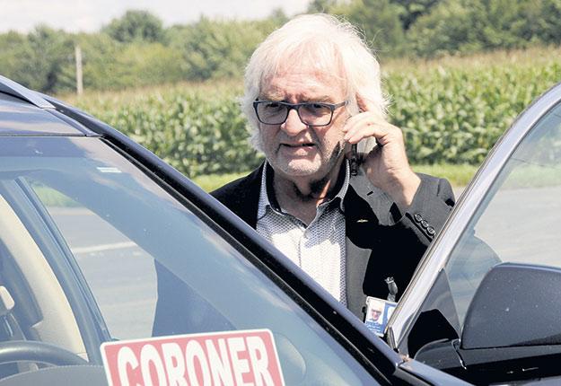 Le coroner Yvon Garneau a récemment livré son rapport sur la mort du producteur Christian Labonté. Crédit photo : Archives TCN