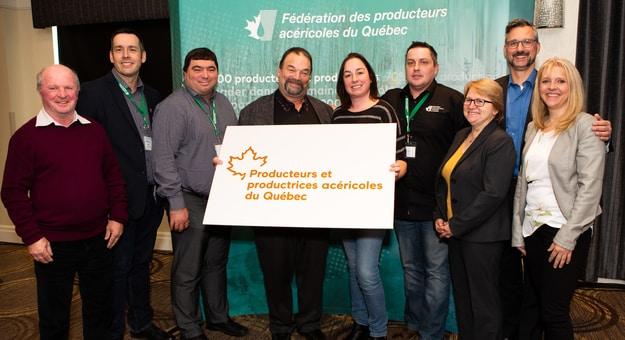 La Fédération a changé de nom afin de représenter les nombreuses femmes qui travaillent en acériculture. Photo : Gracieuseté de la Fédération des producteurs acéricoles du Québec