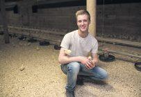 Christopher Vachon a reçu une attestation d'études collégiales en gestion d'entreprises agricoles du Cégep Beauce-Appalaches. Crédit photo : Gracieuseté du Cégep Beauce-Appalaches