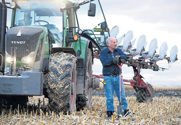 Pour Laurent Bousquet, l'amour du métier est une des plus grandes forces de la ferme familiale. Crédit photo : Martin Ménard/TCN