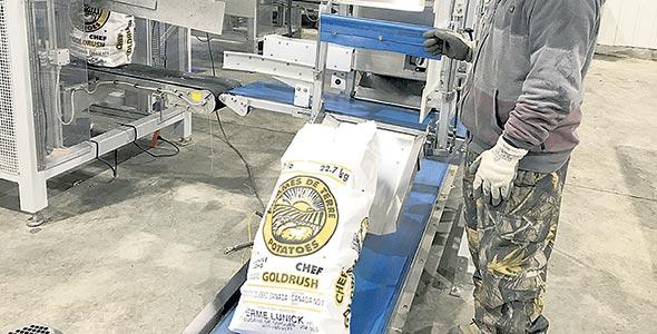 Depuis un an, la Ferme Lunick possède une usine d'emballage des plus performantes.