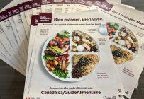 Le nouveau Guide alimentaire canadien fait une grande place aux produits d'origine végétale comme les fruits, les légumes et les légumineuses.