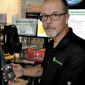 Ce détecteur de gaz nocifs est un bon outil à glisser dans son coffre», propose Stéphane Mercure, responsable du développement des affaires chez Hazmasters.