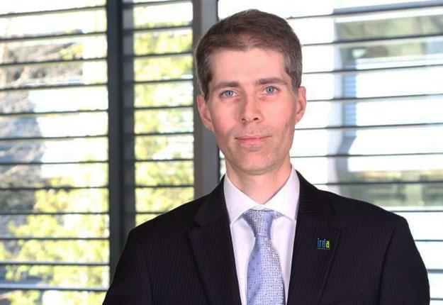 Éric Dion, directeur au développement des affaires et aux communications à l'IRDA. Crédit : IRDA