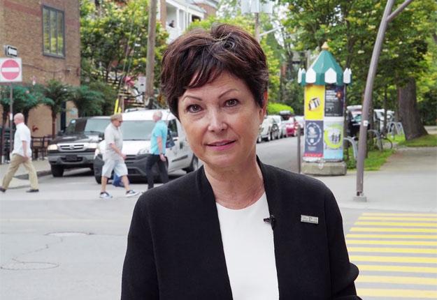 La protectrice du citoyen, Marie Rinfret. Gracieuseté bureau du Protecteur du citoyen.
