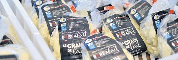 Les fourrages récoltés dans une région boréale sont plus sucrés et ça se transmet dans le lait.