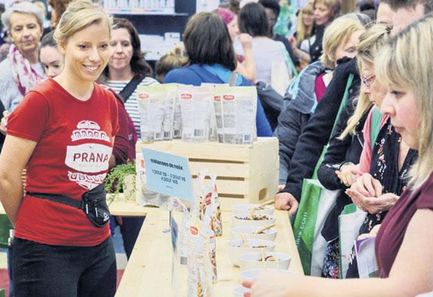 L'Expo manger santé et vivre vert avait attiré près de 35000visiteurs l'an dernier, à Montréal et à Québec. Crédit photo : Gracieuseté de Chuck Pépin
