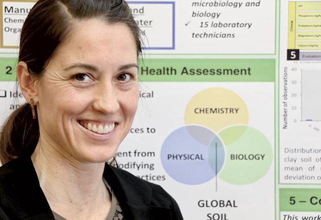 La biologie agricole n'a plus de secret pour Mélanie Gauthier.