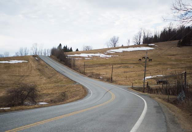 Du temps froid persistant et gris est prévu en avril. Crédit photo : Martin Ménard/Archives TCN