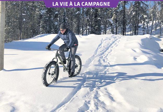 Lorsque Pierre Brassard visite son père à Val-d'Or, l'un de ses rituels est de faire des sorties de plein air dans la forêt récréative. Crédit photo : Gracieuseté de Pierre Brassard