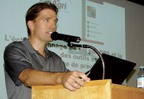 Stéphane Gagnon, agronome chez Synagri. Crédit photo : Bernard Gauthier