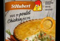 La viande contenue dans les pâtés au poulet que St-Hubert vend en épicerie provient de Thaïlande. Crédit : St-Hubert