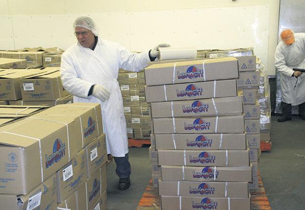 L'abattoir Levinoff-Colbex, de Saint-Cyrille-de-Wendover, est fermé depuis mai2012. Crédit photo : Archives TCN