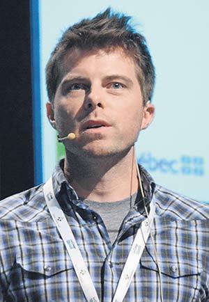 Carl Boivin, chercheur et agronome à l'IRDA. Photos : Gracieuseté IRDA