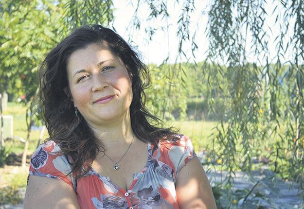 La fromagère Caroline Tardif veut poursuivre les projets qu'elle a bâtis avec son conjoint, qui a perdu la vie en novembre dernier. Photos : Gracieuseté de la Fromagerie Ruban bleu