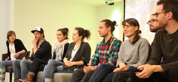 Après le visionnement du 1er épisode, les participants de l'émission ont répondu aux questions du public.
