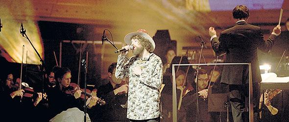Philippe Brach à l'occasion d'un spectacle symphonique. Crédit photo : Le Petit Russe