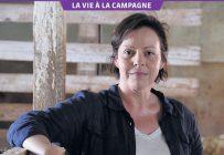 Originaire de La Tuque, la comédienne Maude Guérin prend plaisir à personnifier une agricultrice bio au petit écran. Gracieuseté des Productions Casablanca.