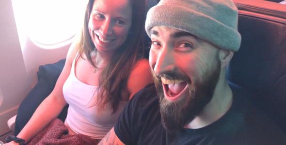 Kathleen et Alexandre s'envolent pour la République dominicaine. On leur souhaite du bonheur, des rapprochements et de l'amour, bien sûr!
